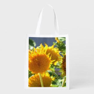 Sunflower blooms bag