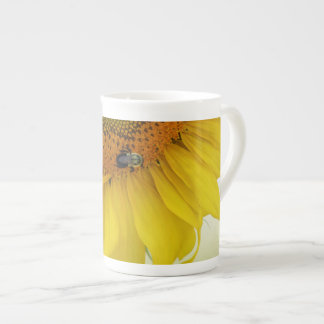 Sunflower Bone China Coffee Cup Design Two