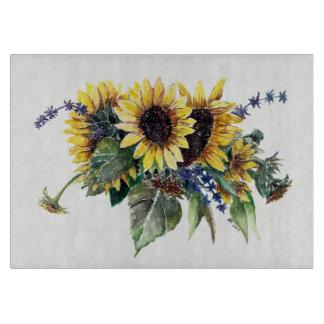 Sunflower Bouquet Cutting Board