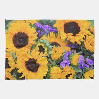 Sunflower Bouquet Kitchen Towel