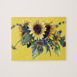 Sunflower Bouquet Puzzle