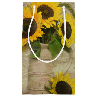 Sunflower Bouquet Small Gift Bag