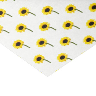 Sunflower Bride Autumn Wedding Party Tissue Paper