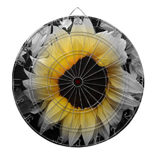 Sunflower Burst Dartboard