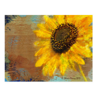 Sunflower Burst Postcard