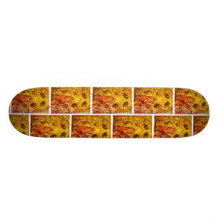 Sunflower Cat Skateboard