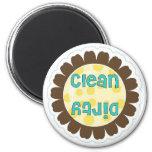 Sunflower Clean/Dirty Dishwasher Magnet