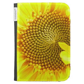 Sunflower Close Up Kindle Case