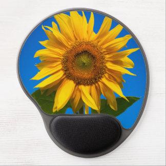 Sunflower closeup gel mouse mat