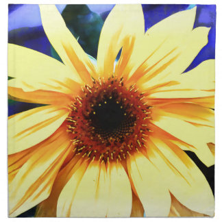"sunflower Cloth Napkins (set of 4) dinner 20""x 20"""