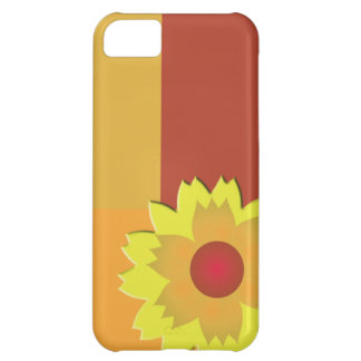 Sunflower Color Block iPhone 5C Covers