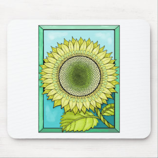 Sunflower Color Mouse Pad