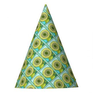Sunflower Color Party Hat