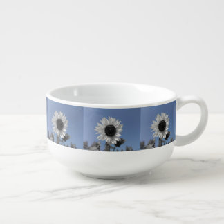 Sunflower Color Splash Soup Mug