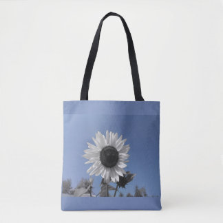 Sunflower Color Splash Tote Bag