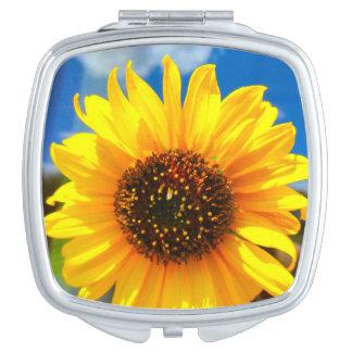 Sunflower Compact Mirror
