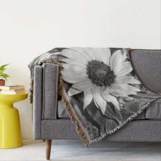 Sunflower covers throw blanket