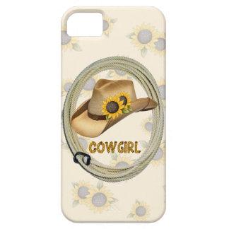 """Sunflower Cowgirl"" Western IPhone 5 Case"