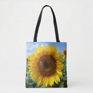 Sunflower Custom All Over Print Tote Bag