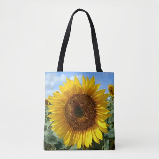 Sunflower Custom All Over Print Tote Bag
