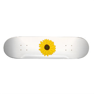 Sunflower Custom Skate Board