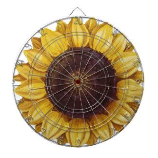 sunflower dartboard