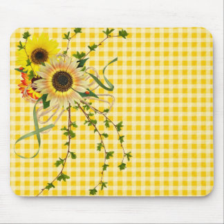 Sunflower Day Mouse Pad