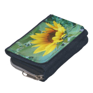 *Sunflower* Denim Wallet