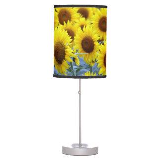 Sunflower desk lamp