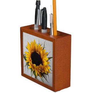 Sunflower Desk Organiser