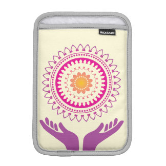 Sunflower devotion ipad mini sleeve