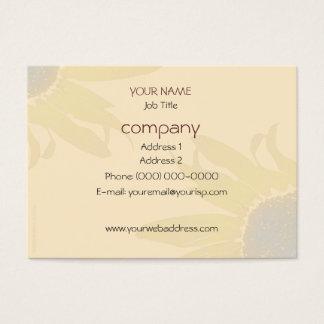 Sunflower Earth Tones Light Business Card