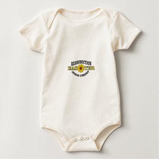 sunflower easter monument baby bodysuit