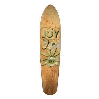 Sunflower & Eiffel Tower Custom Skateboard