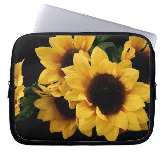 Sunflower Electronics Bag