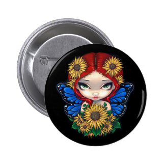 """Sunflower Fairy"" Button"