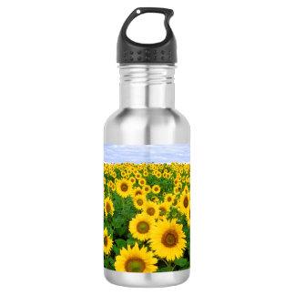 Sunflower Field 532 Ml Water Bottle