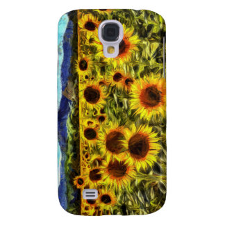 Sunflower Field Van Gogh