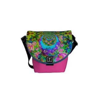 Sunflower Fields forever kiwi - indigo child Commuter Bags