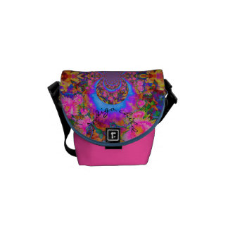 Sunflower Fields forever pink - indigo child Commuter Bags