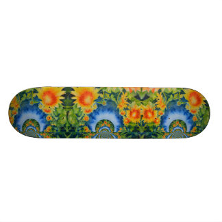 Sunflower Fields forever Skate Deck