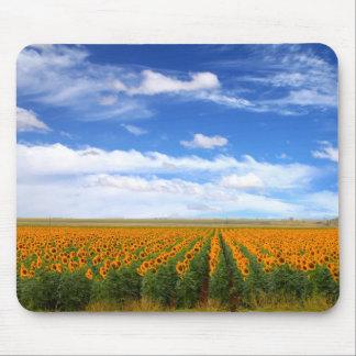 Sunflower Fields - Mousepad