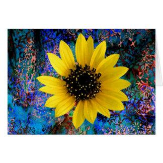 Sunflower Float Card