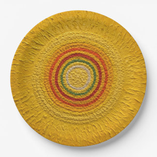"Sunflower for All Seasons 9"" Paper Plate"