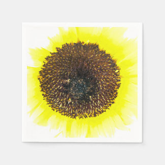 Sunflower Fun Disposable Napkin