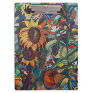Sunflower Garden Clipboard