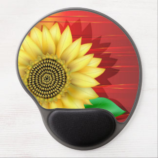 Sunflower Gel Mouse Mats