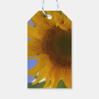 Sunflower Gift Tag (Picture is on one side only) Pack Of Gift Tags