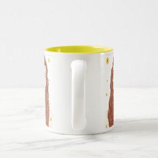 Sunflower Girl Mug 11oz White Yellow