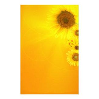 Sunflower Glow Stationery